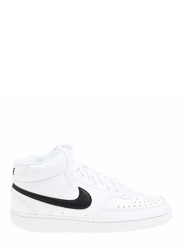 Nike Erkek Beyaz Sneakers CD5466 - 101 Court Vision Mid Beyaz